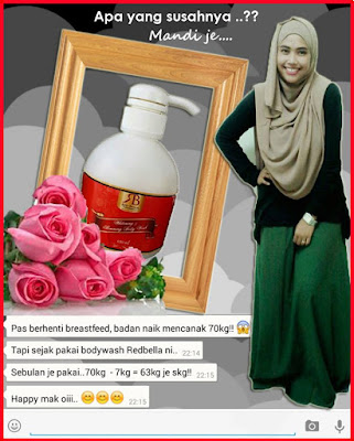RED BELLA BODY WASH SLIMMING