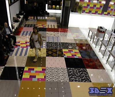 3d flooring, 3d floor tiles, 3d epoxy floor patterns