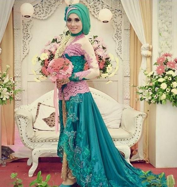 15 Contoh Hijab Modern Pengantin Yang Terpopuler Dan Sedang Trend