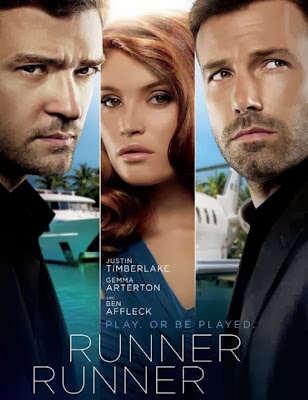 Poster Of Hollywood Film Runner Runner (2013) In 300MB Compressed Size PC Movie Free Download At worldfree4u.com