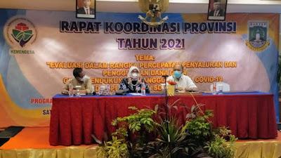 Gubernur Banten : 8% Anggaran Dana Desa Untuk Penanganan Covid-19