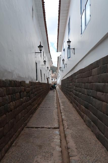 Calles de Cuzco en Peru