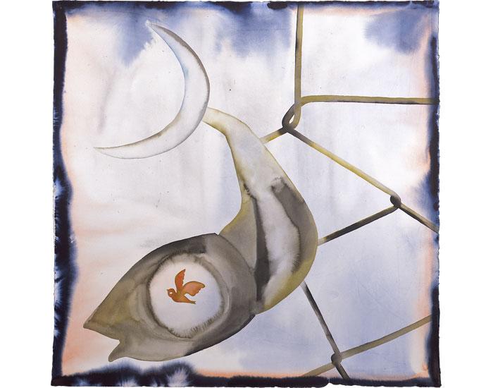 Artist Francesco Clemente debuts at London's Lévy Gorvy gallery ...   550x700