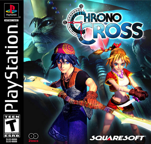 Chrono Cross - PSX - Portada