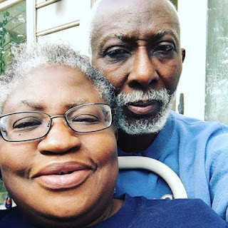 Grey Love: Dr. Ngozi Okonjo-Iweala Shares adorable picture of herself and Husband to their Children