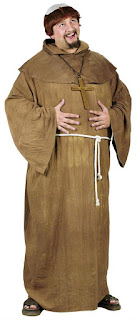 Men's Monk Costume - Plus Size for Thanksgiving Day