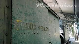 coretan dinding di ambarawa