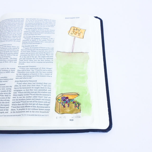 Illustrated faith, journaling bible