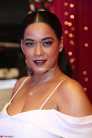 Mumaith Khan Spicy pics in Deep Neck White Gown at Zee Telugu Apsara Awards 2017 05.JPG