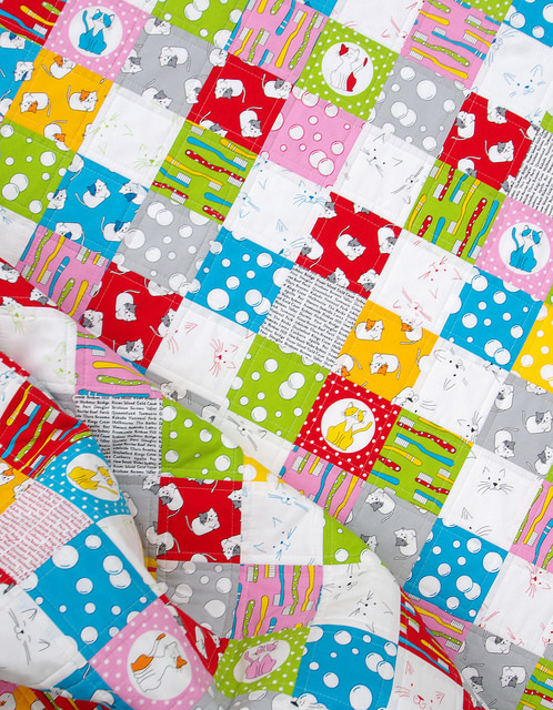 The Cat's Pyjamas Quilt | Red Pepper Quilts 2015