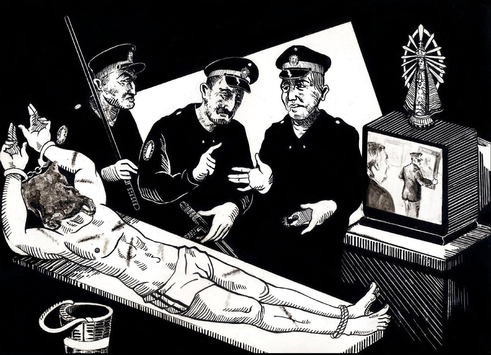 Ilustración/ Narración/ Dibujos/ Palabras: PFA. Praxis Crimminalis ...