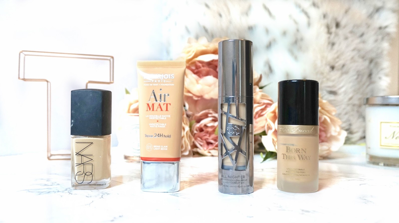 4 favourite foundations