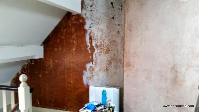 Stripped walls