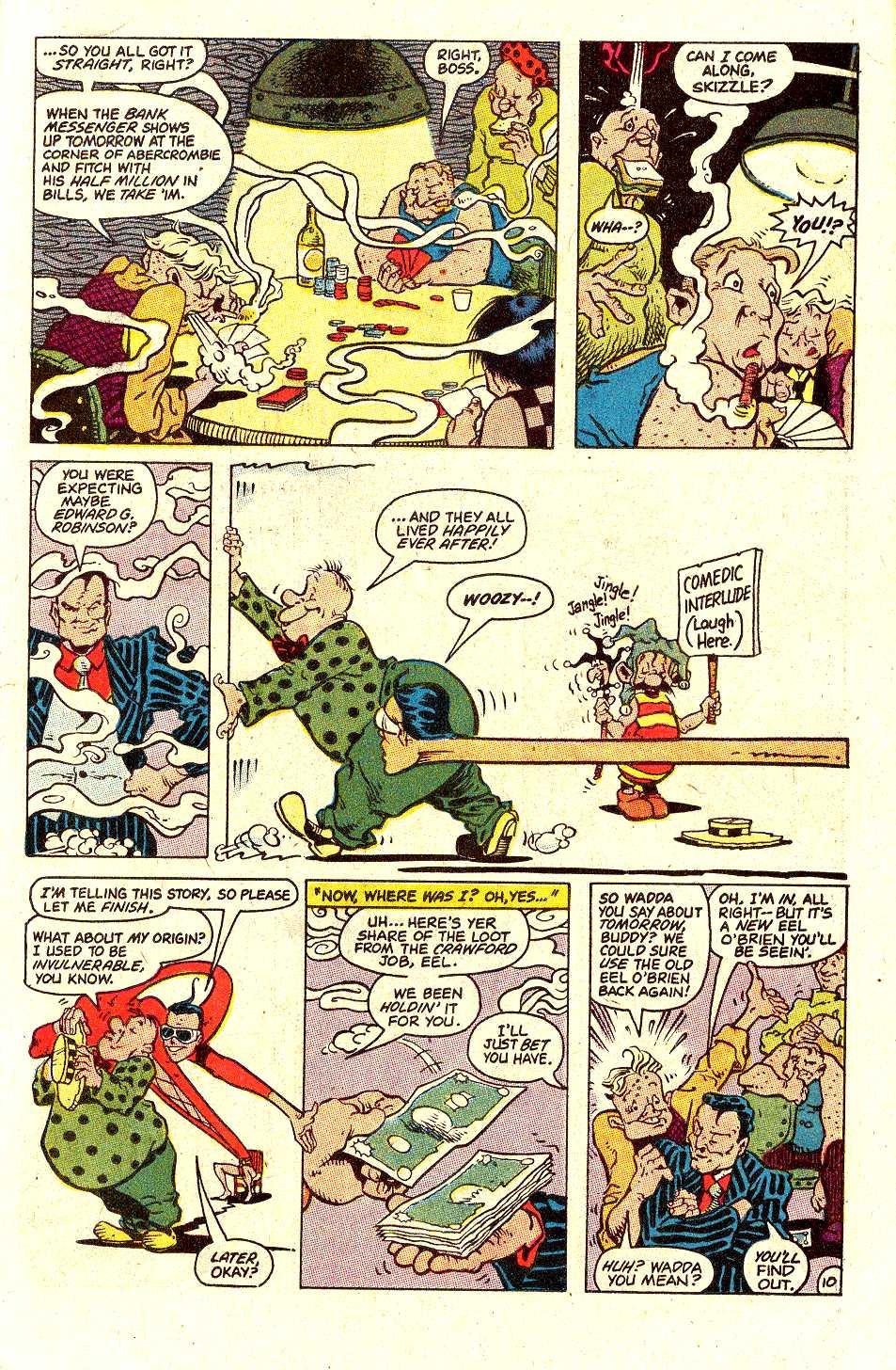 Read online Secret Origins (1986) comic -  Issue #30 - 31
