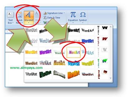 Cara Membuat Tulisan Melingkar Di Microsoft Word Cara Aimyaya Cara Semua Cara