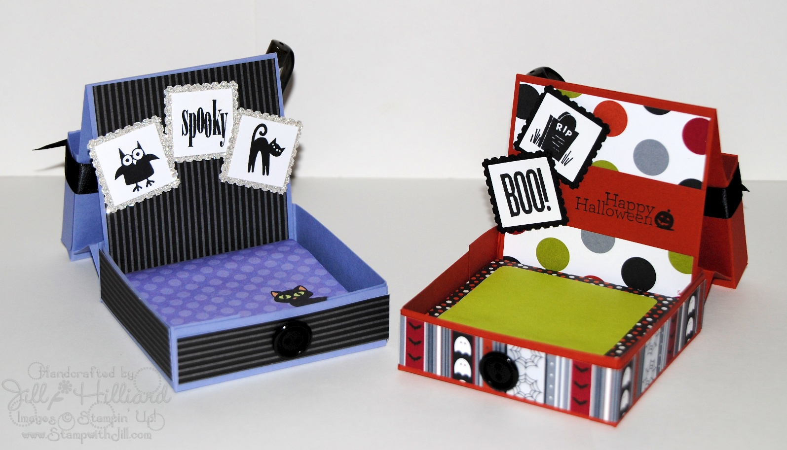 Post-It Note Desk Box FREE Tutorial!