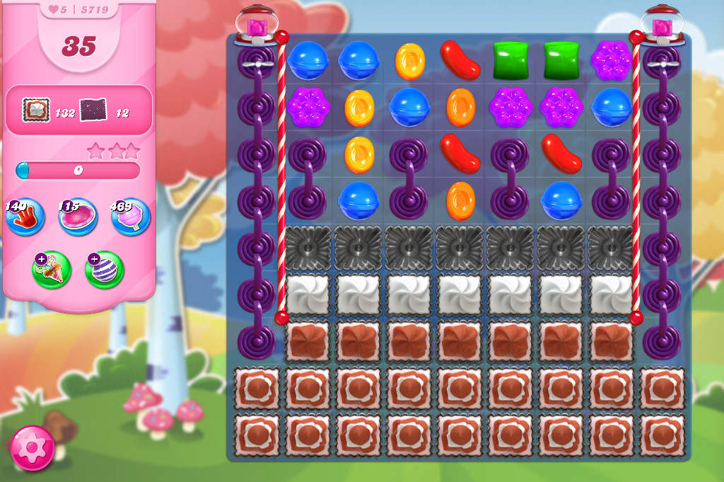 Candy Crush Saga level 5719