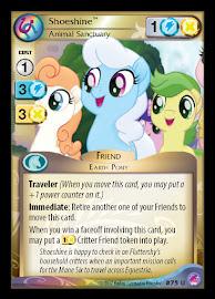 My Little Pony Shoeshine, Animal Sanctuary Seaquestria and Beyond CCG Card