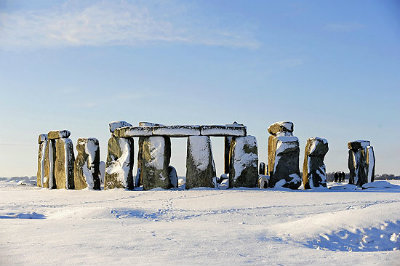 WINTER STONEHENGE