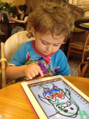 iLuv Drawing Monsters iPad App