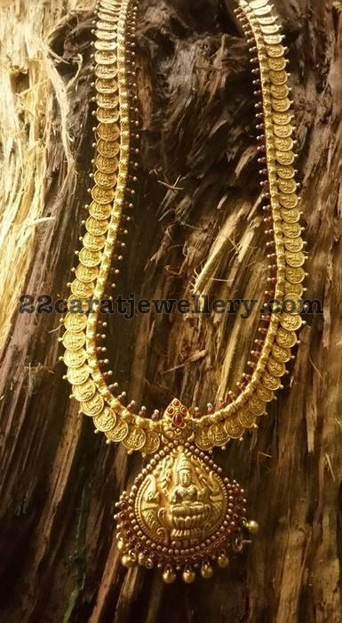 Lakshmi Necklaces in Silver
