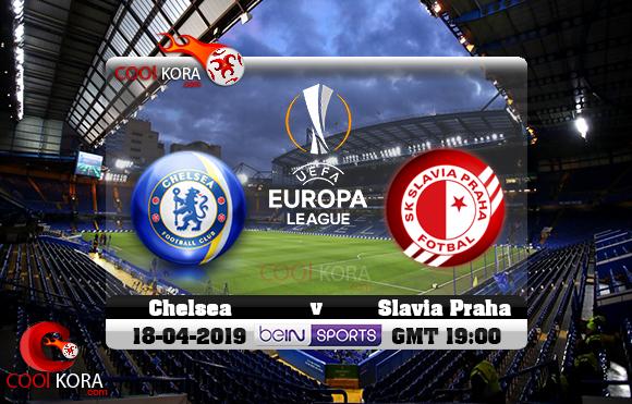 مشاهدة مباراة تشيلسي و سلافيا براغ اليوم 18-4-2019 في الدوري الأوروبي