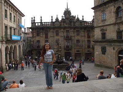 Galícia-Santiago de Compostela (ES) agosto 2007
