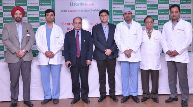 Fortis Escorts Hospital, Faridabad strengthen its foundation for Kidney Transplant Program