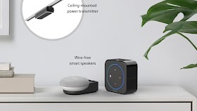 "Wi-Charge Unveils First-Ever Wireless Power Kit for Amazon Echo Dot and Google Home Mini Smart Speakers, Introduces ""Powered by Wi-Charge"" OEM Program"