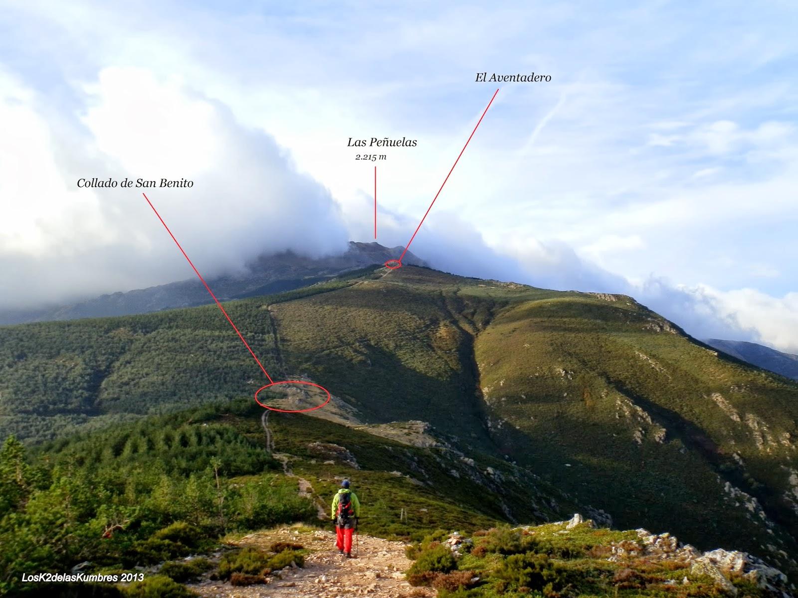 Hacia Pico del Lobo