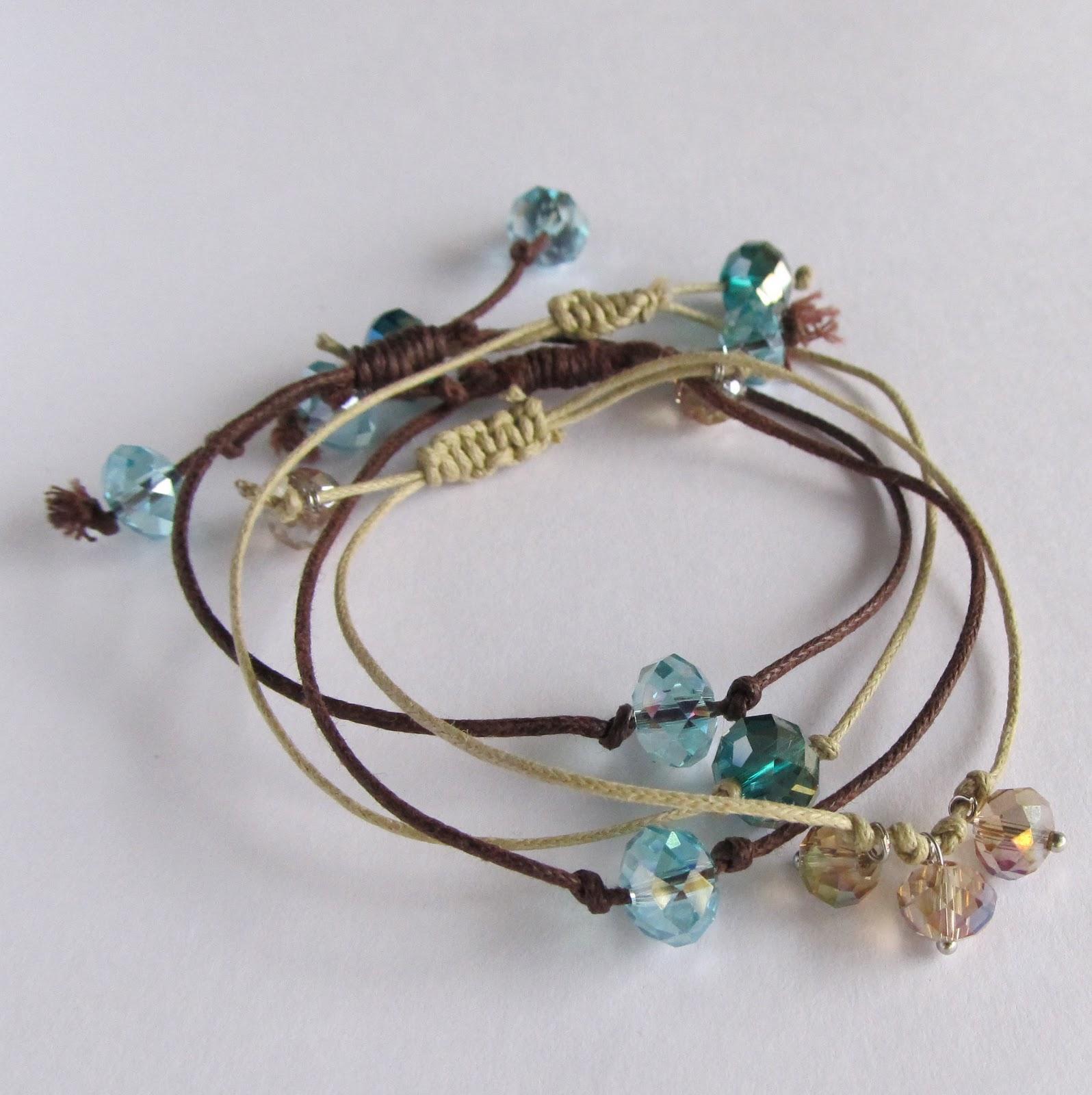 Wobisobi Crystal Bead Bracelet Diy