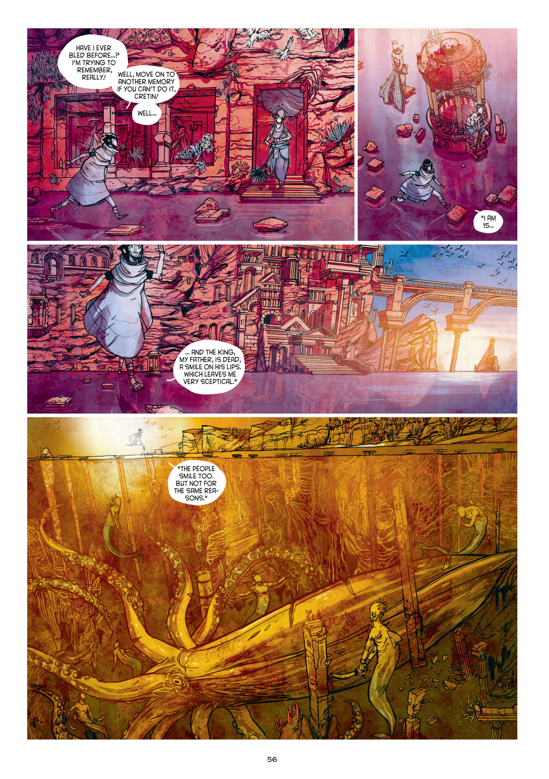 Read online Adrastée comic -  Issue #1 - 57