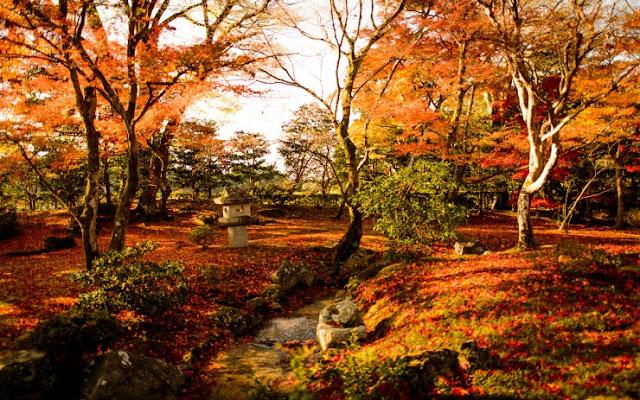 Shugakuin Rikyu Imperial Villa, Kyoto, Jepang