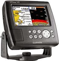 Alat penditeksi kedalaman laut Gps Garmin Echosounder 585 lengkap tranduser training GRATIS