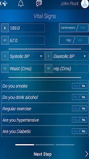 Health Risk Calculator
