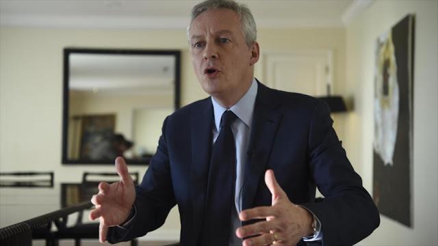 Francia: No habrá diálogo comercial con EEUU si siguen tarifas
