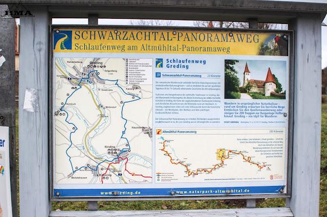 Schlaufenweg Greding Schwarzachtal Panoramaweg - Altmühltal outdoor-Blog