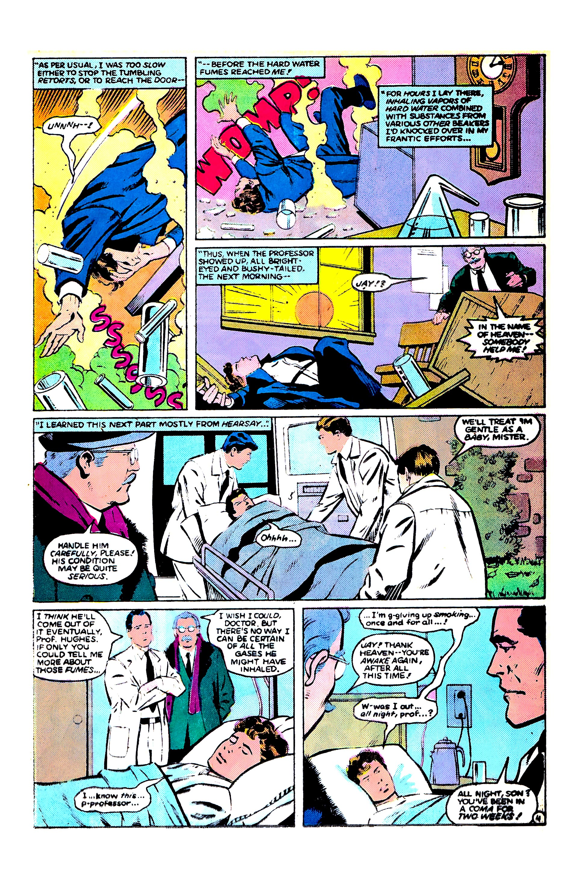 Read online Secret Origins (1986) comic -  Issue #9 - 28