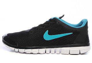 34dca76540cf Nike Free 3.0 V2 Mens Black Blue White Running Shoes is enjoying high  popularity now. so perfect colors matche