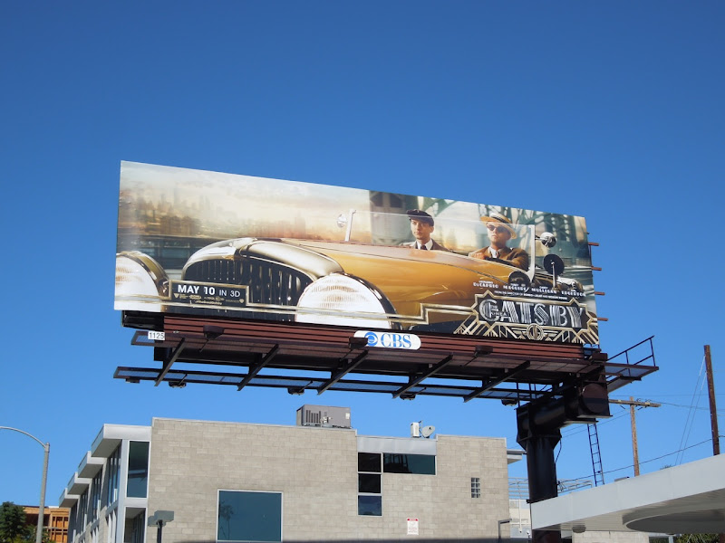 Great Gatsby movie billboard