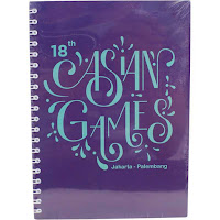 Alfacart Asian Games 2018 Note Book ANDHIMIND