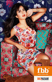 Katrina Kaif Sizzling Pictureshoot for FBB Fashion Big Bazaar