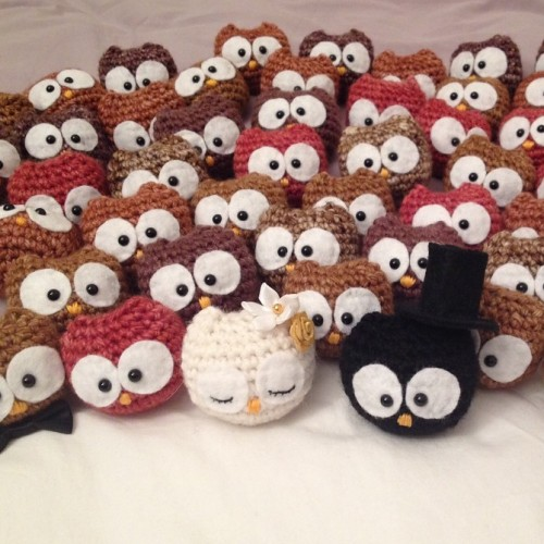 Baby Owl Ornaments - Free Pattern