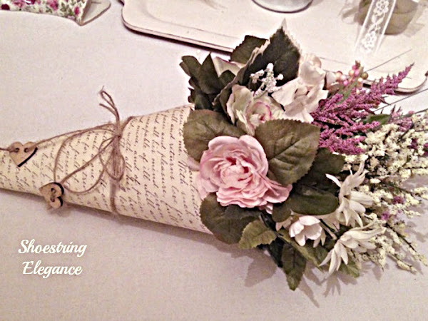 How to Make a Flower Cone and Thursday Favorite Things