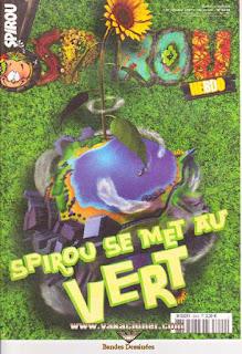 Spirou Hebdo, Spirou se met au vert, numéro 3629, année 2007