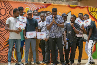 """HamLord """"Jesse Josh"""" Concludes """"Croccity Graffiti Master Class 2019"""" By Training (11) Global Icons"""