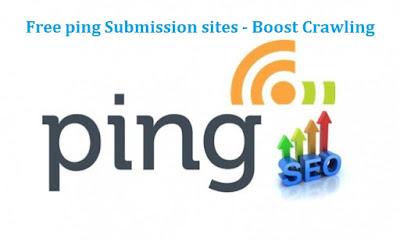 High PR 40+ Free Ping Submission Sites list 2019 | Uttara Infotech