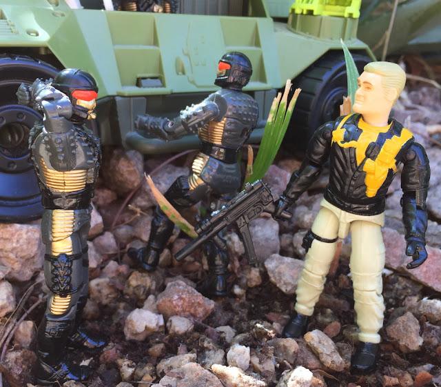 1993 Mace, DEF, Battle Corps, Headhunter Stormtrooper, Monster Blaster APC, Mega Marines