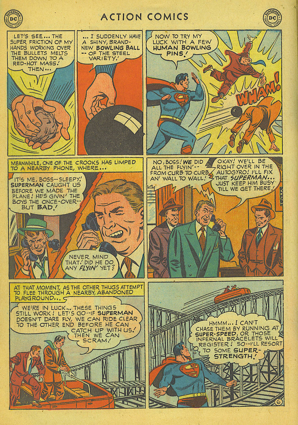Read online Action Comics (1938) comic -  Issue #157 - 7