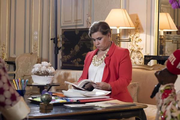 Duchess Maria Teresa attended an event of UNESCO ...